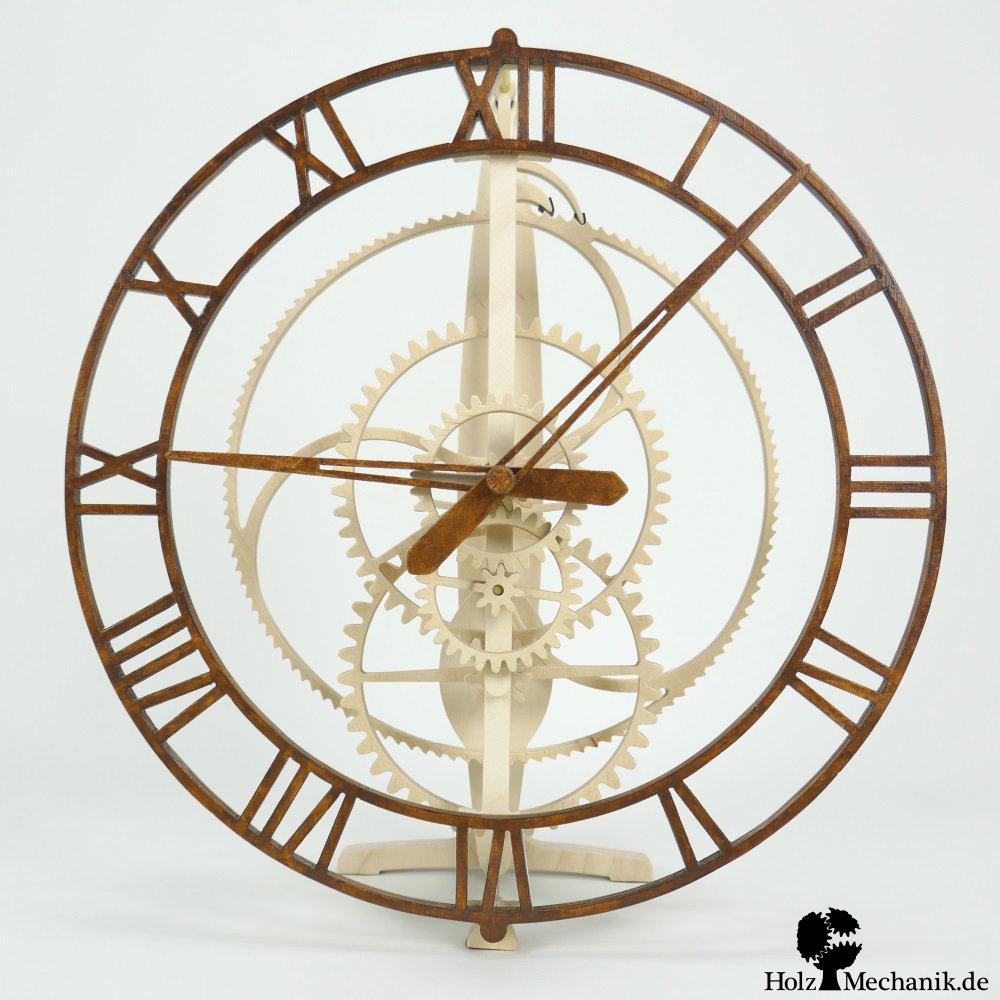 Holzmechanikde Wooden Clock Magica